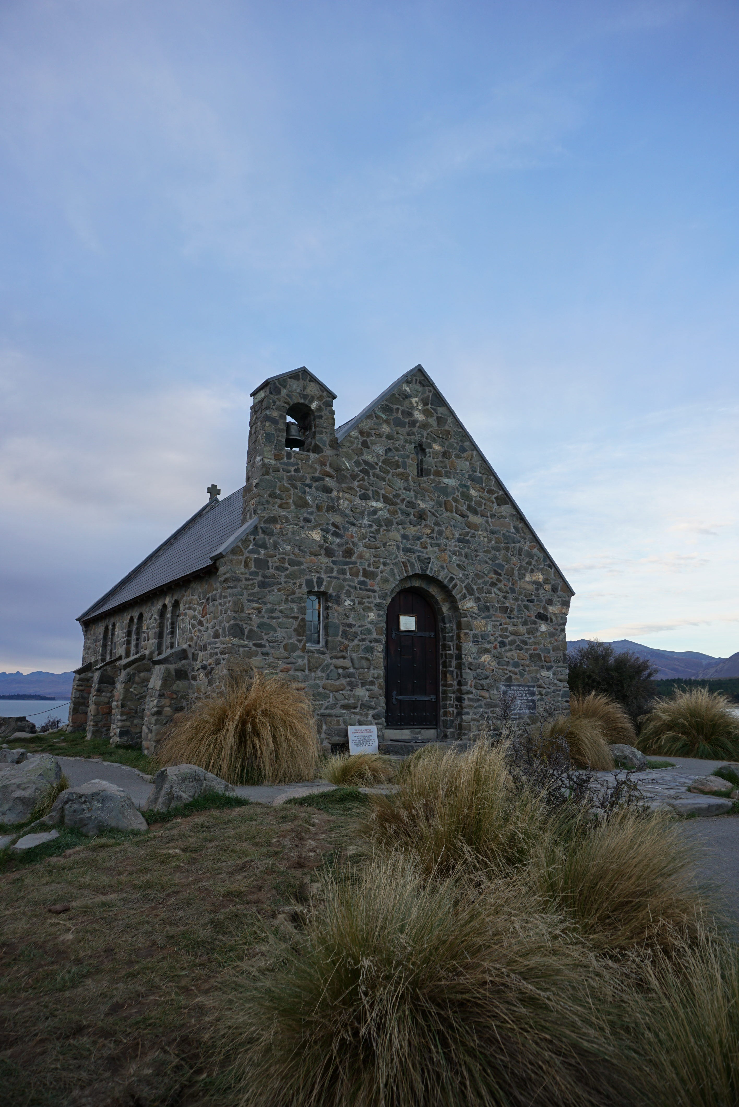 Church of the Good Shepherd, one of the most photographed churches in the country and has a beautiful backdrop of Lake Tekapo