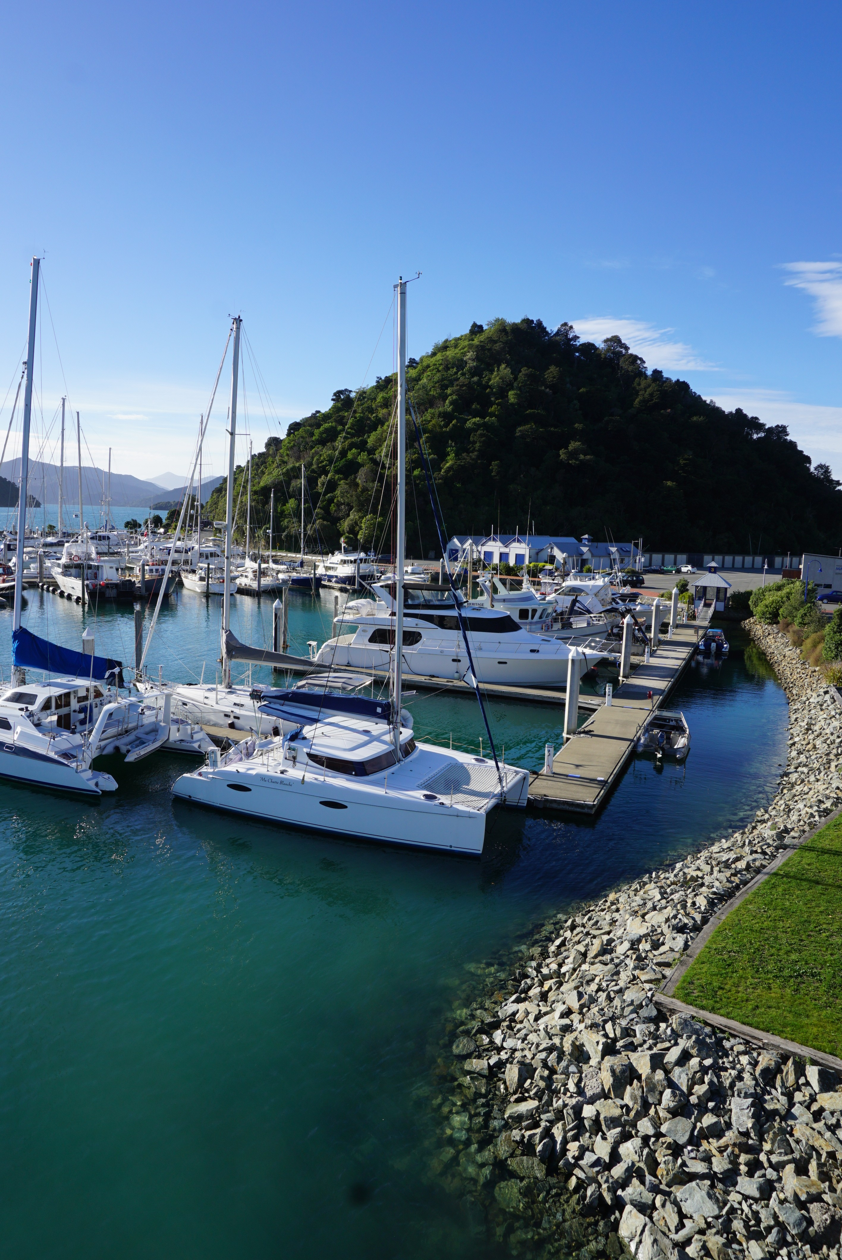 the harbor at Picton