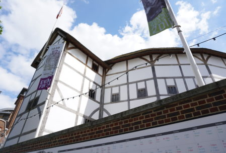The Globe theater reconstructed, where Shakespeare would have had his plays performed. You can get 5 GBP standing tickets for his plays every day.