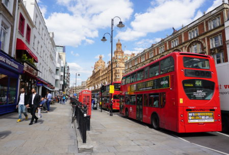 The most London scene I passed. Double decker buses, red phone boothes, in front of Harrod's department store, where nothing is priced and if you have to ask you can't afford it. Go into their food hall and buy something small, I promise you it will be delicious.