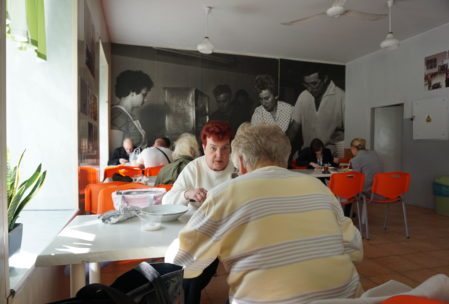 milk bars are frequented by students, elderly people reminscent for Communist times, and anybody wanting a cheap meal.