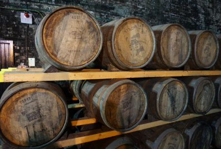 these are bourbon from Heaven Hill distillery in Kentucky. Many liquors age or finish in used bourbon barrels, which means bourbon makes the world better. Right?