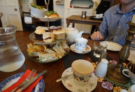 best tea ever. The cakes especially were magnificent.